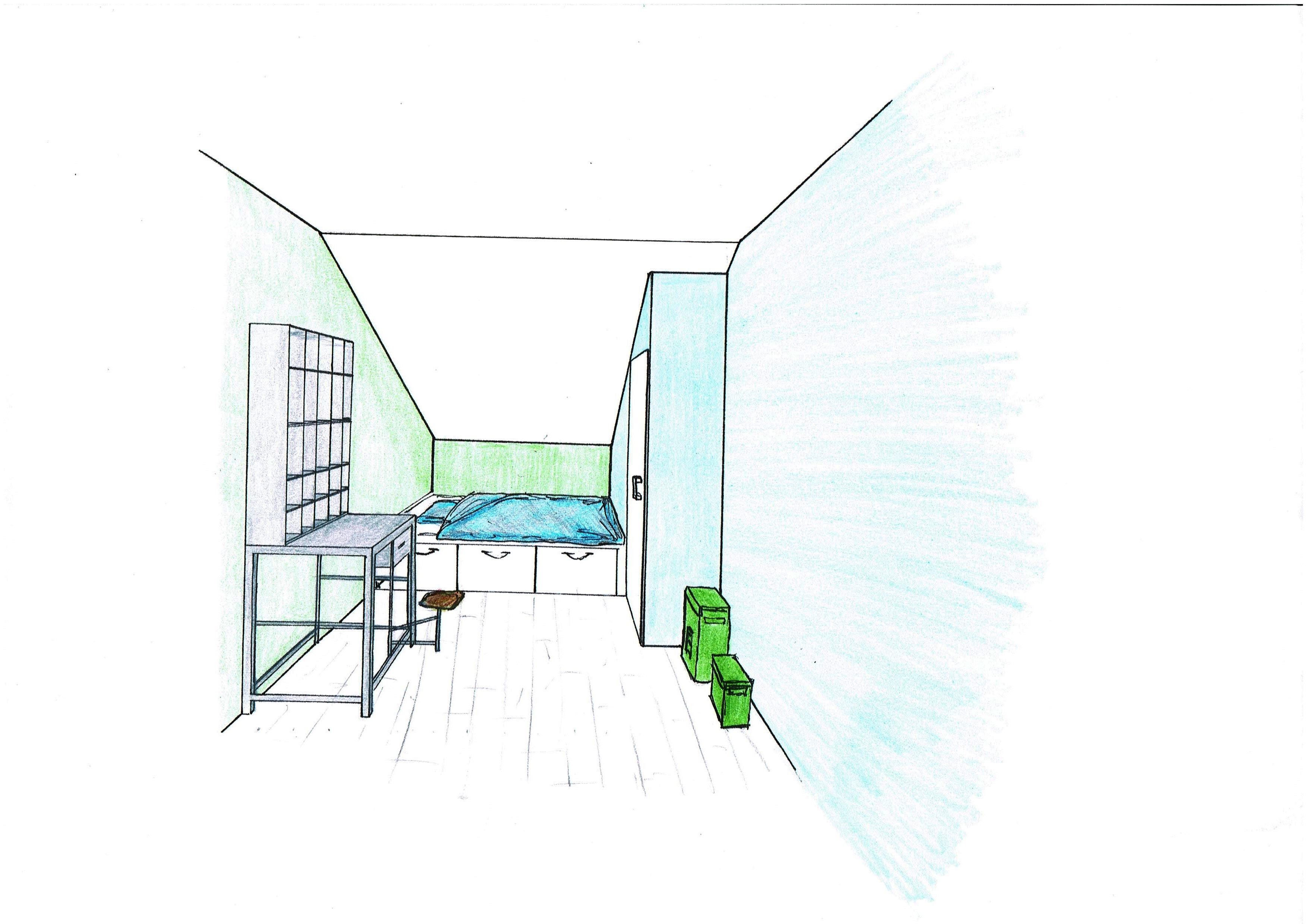 Ontwerp zolder van welie interieur for 3d inrichten
